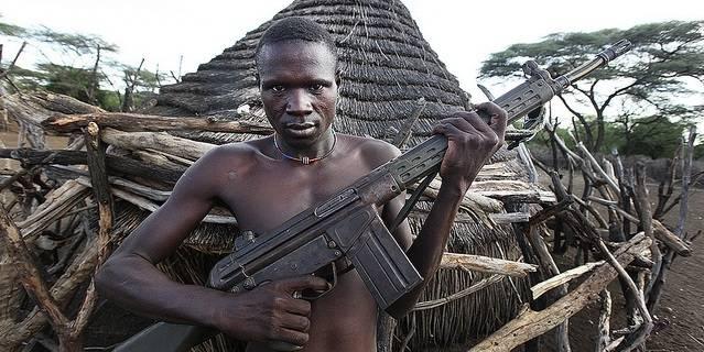 Borgerkrigen i Sør-Sudan førte til en økt militarisering av sivilbefolkningen. (Foto: Steve Evans/Flickr)