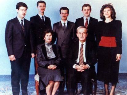 Al-Assad-familien har styrt Syria siden 1970. Foto:Wikimedia Commons