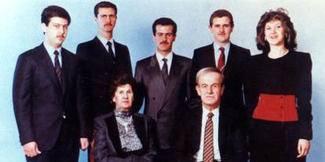 Assad fjölskyldan í Sýrlandi