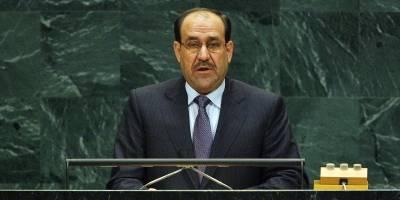 Tidligere statsminister i Irak Nuri al-Maliki taler for FNs generalforsamling. Foto: UN Photo/Marco Castro